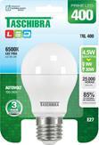 Lâmpada LED Certificada Taschibra Bulbo 4,5W Branco Bivolt