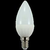 Imagem - Lâmpada Led Vela 4w Bivolt Leitosa E14 cód: 2100002027031