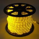 Imagem - Mangueira LED Rolo 100 Metros Amarelo 24 LEDS/m 11mm cód: MANG-100M-AM
