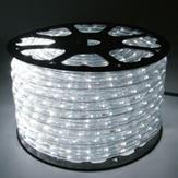 Imagem - Mangueira LED Rolo 100 Metros Branco Frio 24 LEDS/m 11mm cód: MANG-100M-BF