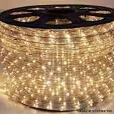 Imagem - Mangueira LED Rolo 100 Metros Branco Quente 24 LEDS/m 11mm cód: MANG-100M-BQ