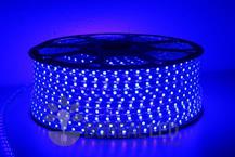 Imagem - Mangueira LED 5050 Chata 6mm 600 LEDS 100 Metros Azul 110V cód: 45301-AZUL