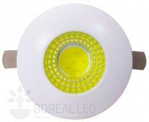 Imagem - Mini Spot LED COB Embutir 3W Redondo 3,5cm Branco Frio 6000K cód: BLS-3MR-BF