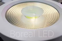 Imagem - Plafon LED COB Sobrepor Redondo 40W Bivolt IP20 AXU cód: XS-63COB40WBF