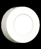 Imagem - Plafon LED Sobrepor Redondo 3W 8,5X8,5cm 150 Lúmens Galaxy LED cód: 2000S