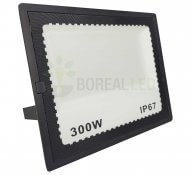 Imagem - Refletor LED 300W Holofote Bivolt Branco Frio IP67 Externo 30.000 lúmens cód: BRI-300WLEDBF
