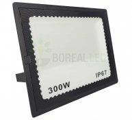 Imagem - Refletor LED 300W Holofote Bivolt Branco Frio IP65 Externo cód: BRI-300WLEDBF