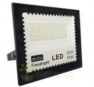 Imagem - Refletor LED 50W Holofote Bivolt Branco Frio IP66 Externo 4500 lúmens cód: RNA50WB