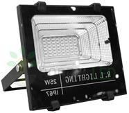 Imagem - Refletor LED SMD Solar 25W IP67 6000K 120º Controle Remoto + Placa Fotovoltaica cód: ROY-SOLAR-25W