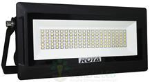 Imagem - Refletor Modular Micro LED SMD Slim 50W IP66 Fundo Branco Acabamento Preto cód: ROY-MD-50W-MICROBF