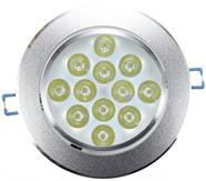 Imagem - Spot de Embutir LED 12W Redondo Borda Prateada Bivolt Power XL cód: 2100002018176-RD