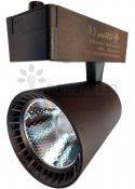 Imagem - Spot Para Trilho LED 30W Luz Branco Quente 3000K Preto Bivolt cód: GD-GD3005PTBQ