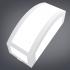 Arandela Policarbonato Retangular Grande P/ 1 Lâmpada E27 Ideal Iluminação 4237