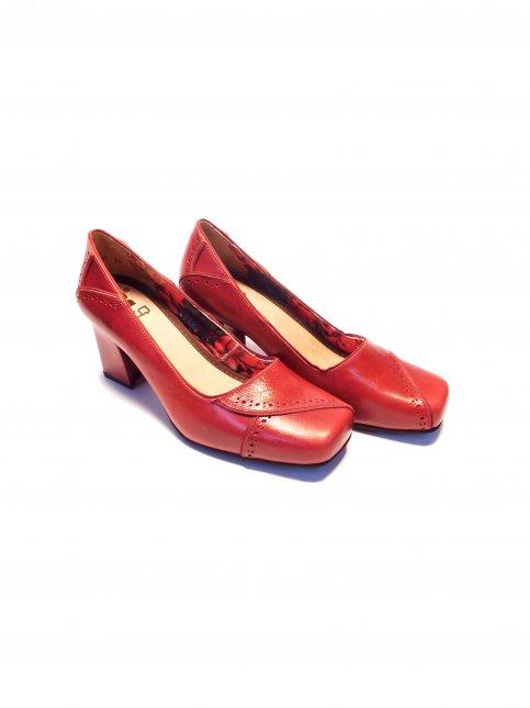 Sapato Retrô Couro Mazuque 6007