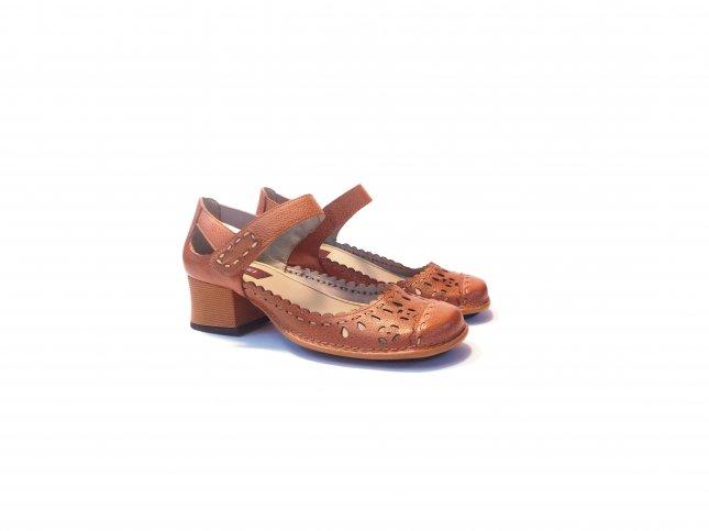 Sapato Retrô Caramelo - REF CK0117