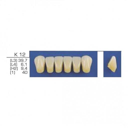 DENTE TRILUX ANTERIOR INFERIOR K10 COR 1A - VIPI (C/ 01 PLACA)