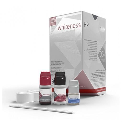CLAREADOR WHITENESS HP 35% KIT 03 PACIENTES COM TOP DAM -  FGM (01 KIT)