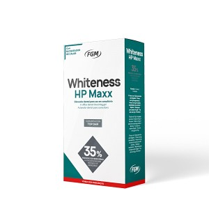 Imagem - CLAREADOR WHITENESS HP MAXX 35% 03 PACIENTES - FGM (C/ 01UN)