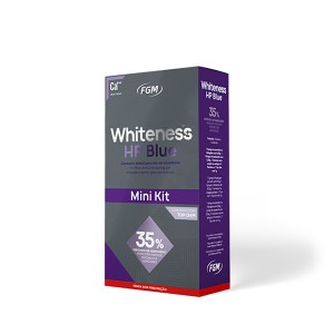 Imagem - CLAREADOR WHITENESS HP BLUE 35%  01 PACIENTE -  FGM (C/ 01KIT)