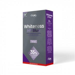 Imagem - CLAREADOR WHITENESS HP BLUE 35% KIT 03 PACIENTES -  FGM (C/ 01KIT)