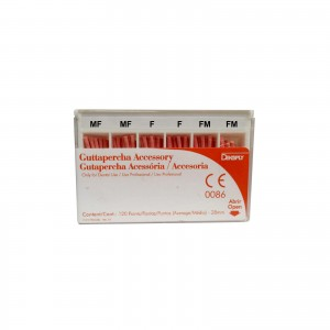 Imagem - CONE GUTA PERCHA -RS ISO CALIBRADA DENTSPLY (CX C/ 120UN)