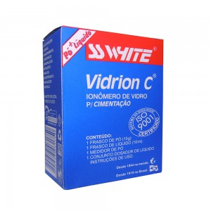 Imagem - IONÔMERO DE VIDRO C KIT VIDRION - SSWHITE (C/ 01KIT)