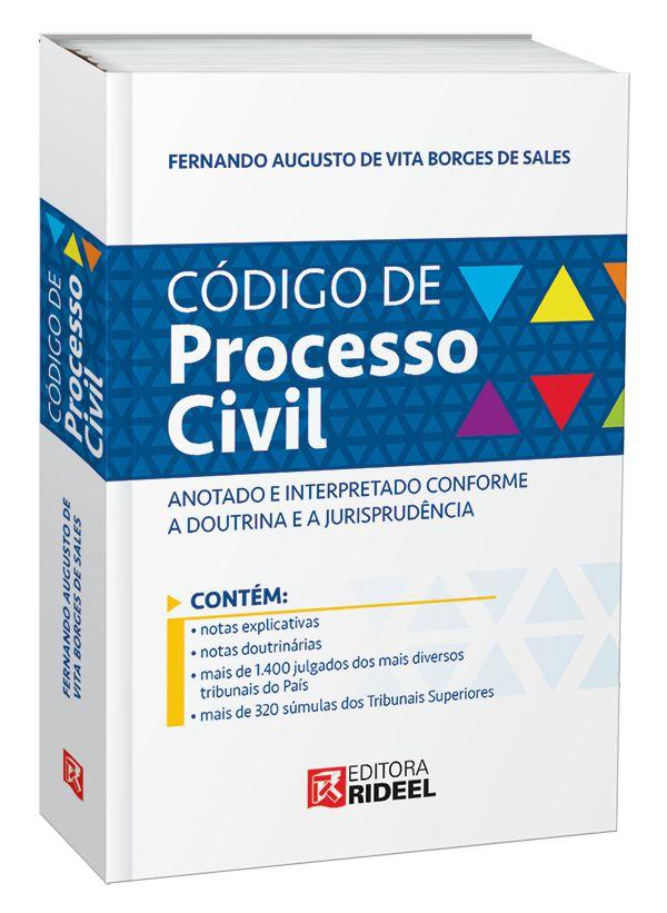 Imagem - Código de Processo Civil Anotado Interpretado 1ED. cód: 9788533952935