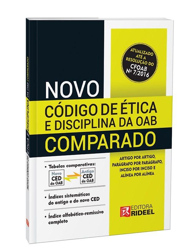 Imagem - Novo Código de Ética da OAB Comparado cód: 9788533941274
