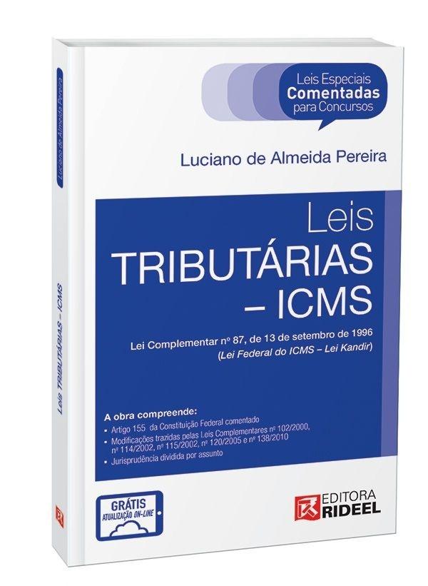 Imagem - Leis especiais Comentadas - Legislação Tributária  cód: 9788533937994