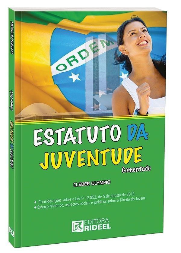 Imagem - Estatuto da Juventude Comentado  cód: 9788533928954