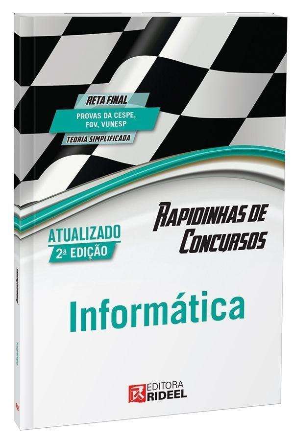 Imagem - Rapidinhas de Concursos - Informática  cód: 9788533935693