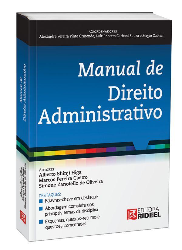 Imagem - Manual de Direito Administrativo 1ED. cód: 9788533952683