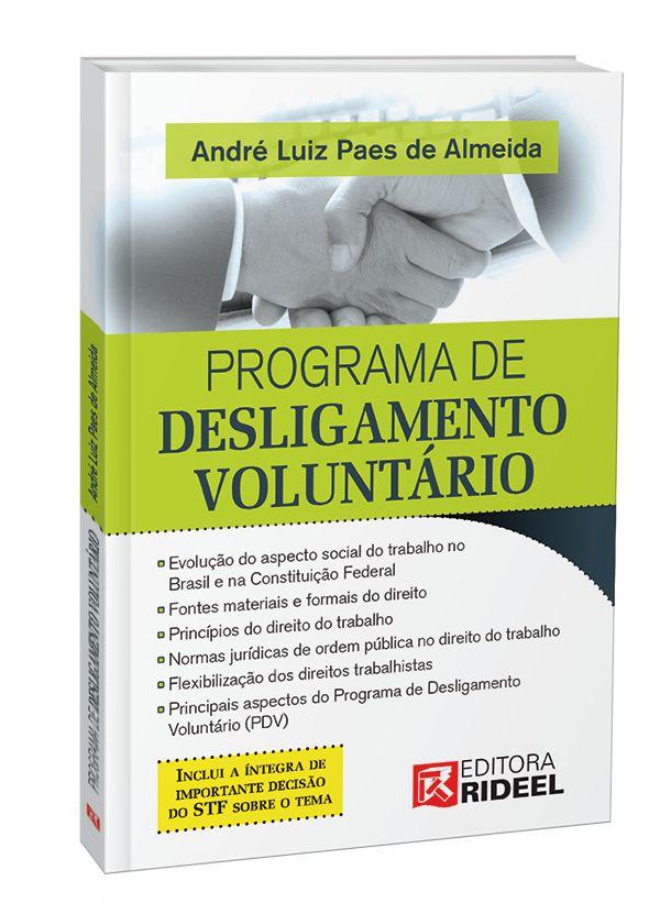 Imagem - Programa de Desligamento Voluntário cód: 9788533951587