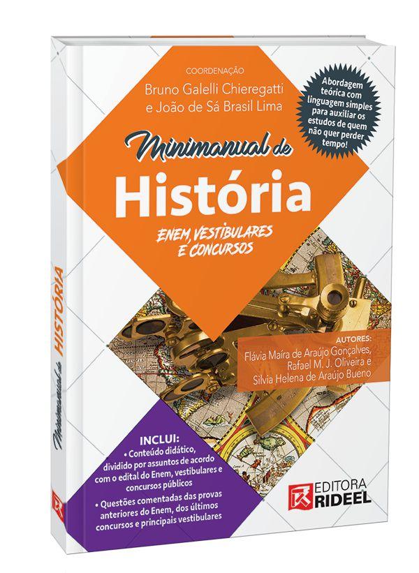 Imagem - Minimanual de Historia - Enem, vestibulares e concursos - 1ª edição cód: 9788533952966