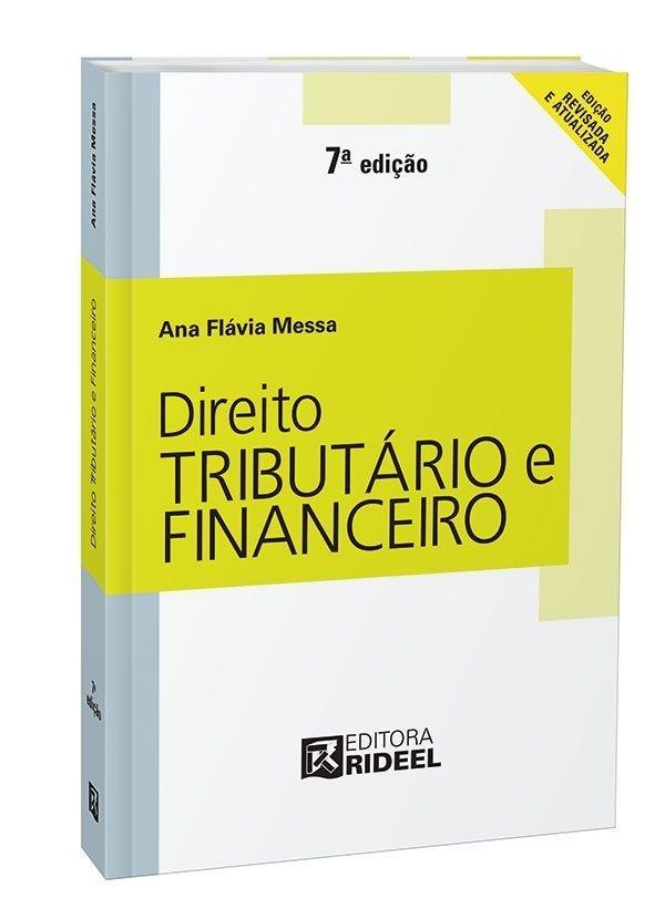 Imagem - Direito Tributário e Financeiro  cód: 9788533937390