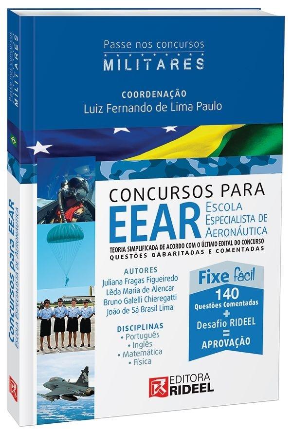 Imagem - Passe em Concursos Militares - EEAR - Escola Especialista de Aeronáutica cód: 9788533935235