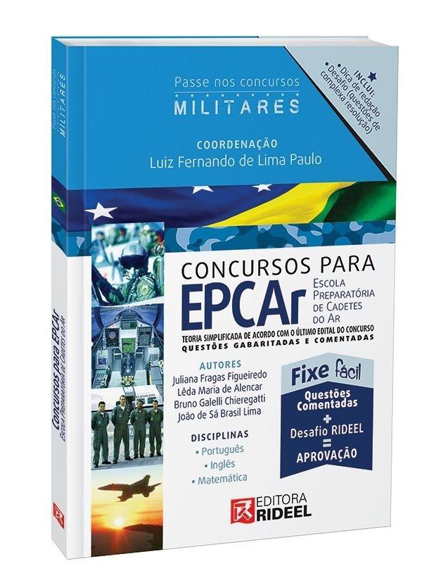 Imagem - Carreiras Militares - EPCAr - Escola de Cadetes do Ar  cód: 9788533936836