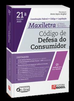 Imagem - Código de Defesa do Consumidor - MAXILETRA - Constituição Federal + Código + Legislação cód: 9788533958500