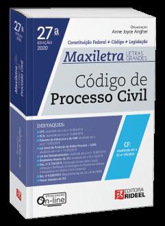 Imagem - Código de Processo Civil - MAXILETRA - Constituição Federal + Código + Legislação cód: 9788533958517