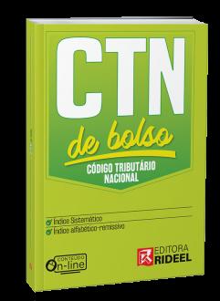 Imagem - Código Tributário Nacional - CTN de Bolso - 1ª edição cód: 9788533958388