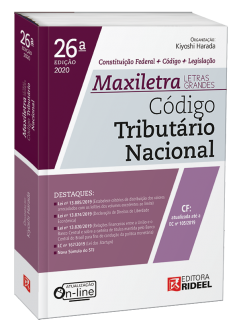 Imagem - Código Tributário Nacional - MAXILETRA - Constituição Federal + Código + Legislação cód: 9788533958579