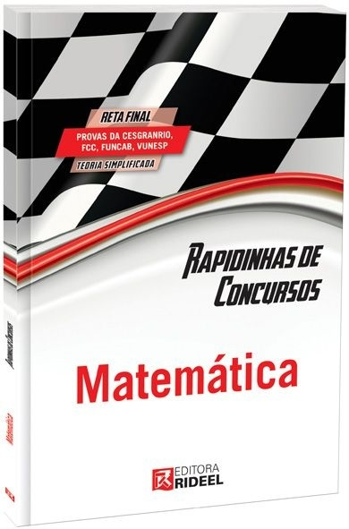 Imagem - Rapidinhas de Concursos - Matemática cód: 9788533925236
