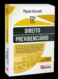 Imagem - Direito Previdenciário 12ª edição cód: 9786557380659
