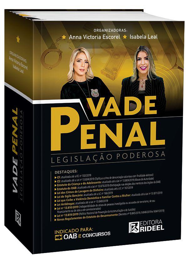 Imagem - Vade Penal - Legislação Poderosa - 1ª edição  cód: 9788533957138