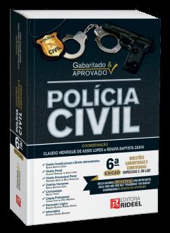 Imagem - Gabaritado & Aprovado – Polícia Civil - 6ª edição cód: 9788533957022