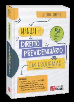 Imagem - Manual de Direito Previdenciário em Esquemas - 5ª edição cód: 9788533958357