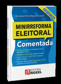 Imagem - Minirreforma Eleitoral Comentada Eleições - 1ª edição cód: 9788533958265