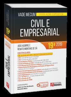 Imagem - Vade Mecum Civil e Empresarial - Legislação Específica 19ª edição  cód: 9798533903725