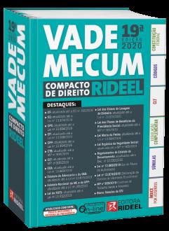 Imagem - Vade Mecum Compacto de Direito Rideel cód: 9788533958296