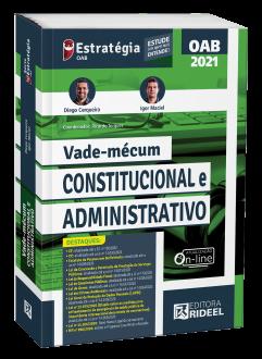 Imagem - Vade-mécum Constitucional e Administrativo 1ª edição cód: 9786557381601